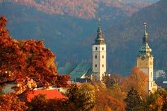 Ιστορική πόλη φθινοπώρου στοκ εικόνα με δικαίωμα ελεύθερης χρήσης
