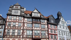 ιστορική πόλη butzbach Γερμανία Στοκ Εικόνα