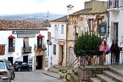 Ιστορική πόλη Ronda Ανδαλουσία, Ισπανία Στοκ εικόνα με δικαίωμα ελεύθερης χρήσης