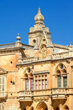Ιστορική πόλη Valletta, Μάλτα Στοκ φωτογραφία με δικαίωμα ελεύθερης χρήσης