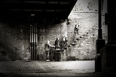 ιστορική σαβάνα της Γεωρ&ga Στοκ εικόνες με δικαίωμα ελεύθερης χρήσης