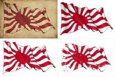 Ιστορική σημαία ναυτικού της Ιαπωνίας αυτοκρατορική Στοκ εικόνα με δικαίωμα ελεύθερης χρήσης
