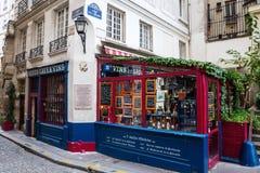 Ιστορική ταβέρνα αμπέλων Ile de Λα Cite στο Παρίσι, Γαλλία Στοκ φωτογραφία με δικαίωμα ελεύθερης χρήσης