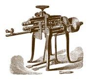 Ιστορική beading μηχανή απεικόνιση αποθεμάτων