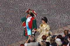 Ιστορικοί δράστες στη ζωτικότητα ο ρόλος του αυτοκράτορα Peter Ι και της αυτοκράτειρας Catherine ο πρώτος Στοκ Φωτογραφία