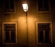 Ιστορικοί φωτεινοί σηματοδότες στη Λισσαβώνα στοκ εικόνα με δικαίωμα ελεύθερης χρήσης