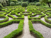 Ιστορικός κήπος Tudor στοκ εικόνες