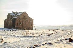 Ιστορικός καθεδρικός ναός σε Ani Στοκ Εικόνες