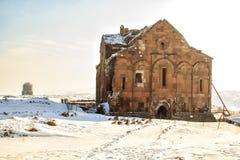 Ιστορικός καθεδρικός ναός στην περιοχή Ani Στοκ Φωτογραφία