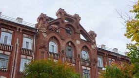 Ιστορικός και αρχιτεκτονικός σύνθετος των κτηρίων έχτισε το 1856-1913 τα έτη Στοκ Εικόνες