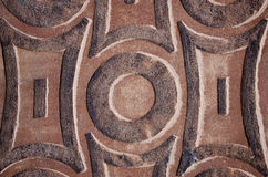 Ιστορικός και διακοσμητικός τοίχος σπιτιών στοκ εικόνες