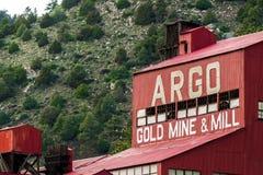 Ιστορικός μύλος ορυχείου χρυσού Argo Στοκ φωτογραφίες με δικαίωμα ελεύθερης χρήσης