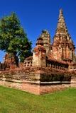 Ιστορικός ναός στην Ταϊλάνδη, Ασία Στοκ εικόνα με δικαίωμα ελεύθερης χρήσης
