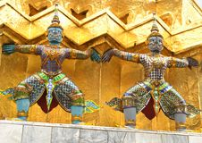 Ιστορικός ναός στην Ταϊλάνδη Στοκ φωτογραφίες με δικαίωμα ελεύθερης χρήσης