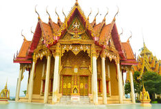 Ιστορικός ναός στην Ταϊλάνδη Στοκ Εικόνες