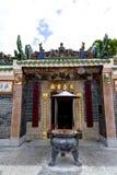 Ιστορικός ναός Hau κασσίτερου σε Sai Kung, Χονγκ Κονγκ Στοκ Εικόνες