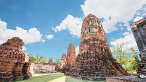 Ιστορικός ναός Wat Mahathat δημόσιων χώρων απόθεμα βίντεο