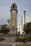 Ιστορικός πύργος ρολογιών σε Antofagasta, Χιλή Στοκ εικόνα με δικαίωμα ελεύθερης χρήσης