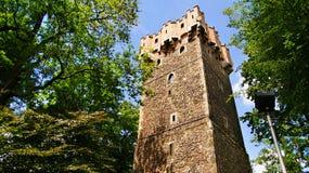 Ιστορικός πύργος σε Cieszyn Στοκ εικόνα με δικαίωμα ελεύθερης χρήσης