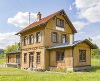 ιστορικός σιδηροδρομικός σταθμός Στοκ Εικόνες