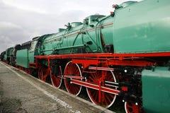 ιστορικός σιδηρόδρομος Στοκ εικόνα με δικαίωμα ελεύθερης χρήσης