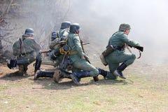 ιστορικός στρατιωτικός λεσχών στοκ εικόνες