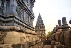 Ιστορικός σύνθετος Prambanan σε Yogyakarta, Ινδονησία στοκ φωτογραφία με δικαίωμα ελεύθερης χρήσης