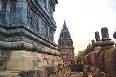 Ιστορικός σύνθετος Prambanan σε Yogyakarta, Ινδονησία στοκ εικόνες