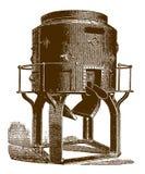 Ιστορικός φούρνος θόλων για το λειώνοντας σίδηρο ελεύθερη απεικόνιση δικαιώματος
