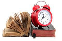 ιστορικός χρόνος βιβλίων Στοκ Εικόνα