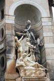 Ιστορικό άγαλμα σε Espana, Βαρκελώνη Στοκ Φωτογραφίες