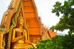 Ιστορικό άγαλμα του Βούδα στην Ταϊλάνδη Στοκ φωτογραφίες με δικαίωμα ελεύθερης χρήσης