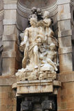 Ιστορικό άγαλμα Plaza de Espana, Βαρκελώνη Στοκ φωτογραφία με δικαίωμα ελεύθερης χρήσης