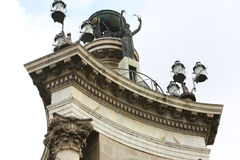 Ιστορικό άγαλμα Plaza de Espana, Βαρκελώνη Στοκ εικόνες με δικαίωμα ελεύθερης χρήσης