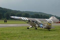 ιστορικό αεροπλάνο στοκ εικόνες