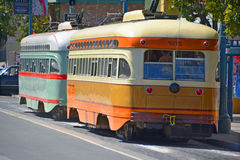 Ιστορικό αυτοκίνητο οδών Στοκ Εικόνες