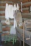 ιστορικό δωμάτιο πλυντηρί&o Στοκ φωτογραφία με δικαίωμα ελεύθερης χρήσης