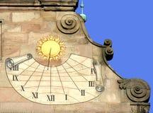ιστορικό ηλιακό ρολόι Στοκ φωτογραφία με δικαίωμα ελεύθερης χρήσης