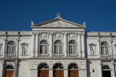 Ιστορικό θέατρο σε Iquique Στοκ Φωτογραφία