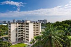 Ιστορικό διαμέρισμα στέγασης κοινής ωφελείας στη Ντακότα στη Σιγκαπούρη Στοκ Εικόνες