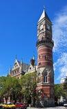 Ιστορικό δικαστήριο αγοράς του Jefferson στοκ φωτογραφία με δικαίωμα ελεύθερης χρήσης