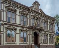 Ιστορικό δικαστήριο κομητειών ορόφων Στοκ εικόνα με δικαίωμα ελεύθερης χρήσης