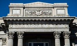Ιστορικό δικαστήριο κομητειών Wasco στο Dalles Όρεγκον Στοκ Εικόνες