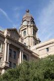 Ιστορικό δικαστήριο TX κομητειών οικοδόμησης Tarrant στοκ φωτογραφία με δικαίωμα ελεύθερης χρήσης