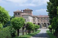 ιστορικό Ιταλία κάστρων romagna &t Στοκ Εικόνες