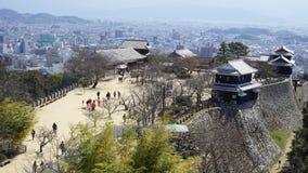 Ιστορικό κάστρο στην Ιαπωνία στοκ φωτογραφία με δικαίωμα ελεύθερης χρήσης