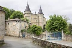 Ιστορικό κάστρο στη νότια Γαλλία, Ευρώπη Στοκ Φωτογραφία