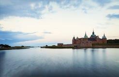 Ιστορικό κάστρο Kalmar Στοκ Φωτογραφίες