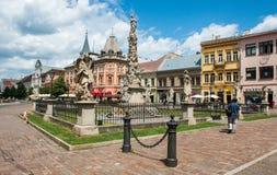Ιστορικό κέντρο πόλεων σε Kosice, Σλοβακία Στοκ φωτογραφία με δικαίωμα ελεύθερης χρήσης