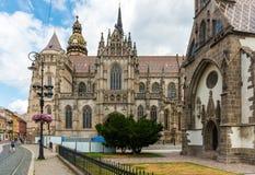 Ιστορικό κέντρο πόλεων σε Kosice, Σλοβακία Στοκ φωτογραφίες με δικαίωμα ελεύθερης χρήσης